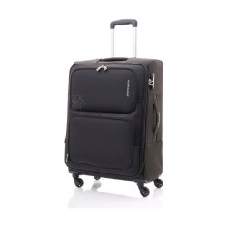 Kamiliant Toro 58CM Spinner Soft Luggage (82WX09001X) - Black