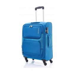Kamiliant Toro 58CM Spinner Soft Luggage (82WX11001X) - Blue