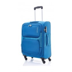 Kamiliant Toro 69CM Spinner Soft Luggage (82WX11002X) - Blue