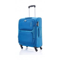 Kamiliant Toro 80CM Spinner Soft Luggage (82WX11003X) - Blue