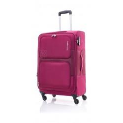 Kamiliant Toro 80CM Spinner Soft Luggage (82WX50003X) - Magenta