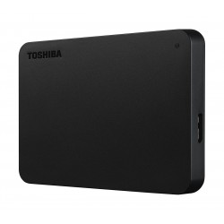 Toshiba Canvio Connect 2TB Portable Hard Disk - Black