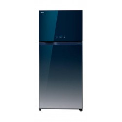 Toshiba 25 Cft. Top Mount Refrigerator (GRWG77UDZK(GG))- Blue