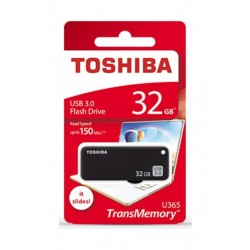 Toshiba Yamabiko 32GB 3.0 Flash Drive (U365W0320) - Black