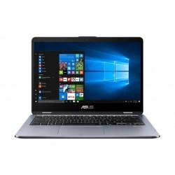 Asus Vivobook Flip 14 Core i7 16GB RAM 1TB HDD + 256 SSD Convertible Laptop (TP410UFEC073T) - Grey