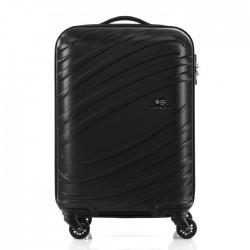 Kamiliant Silkon 55cm Spinner Hard Luggage - Black