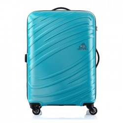 Kamiliant Silkon 68cm Spinner Hard Luggage Blue buy in xcite kuwait