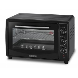 Black & Decker Electric Oven 1800W 45 Litres – (TRO45RDG-B5)