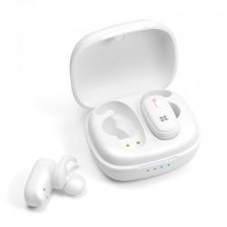 Promate TrueBlue 3 Deep Bass In-Ear Wireless Stereo Earpods - White