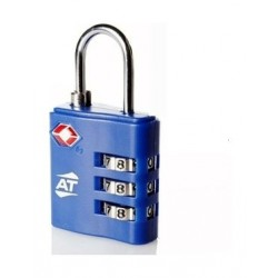 American Tourister Tsa 3 Dial Combination Lock - Blue