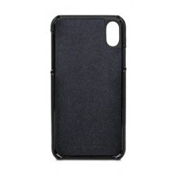 dbramante1928 Tune Series iPhone X Leather Case (TUI8GTBL0848) - Black