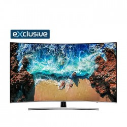 Samsung 55-inch Curve UHD Smart LED TV - (UA55NU8500RXUM)
