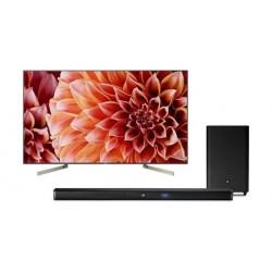 Sony 55-inch UHD SMART LED TV + JBL Bar 2.1 Channel 300W Soundbar with Wireless Subwoofer