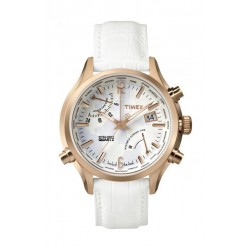 Timex Intelligent Quartz Chronograph Unisex Watch - Leather Strap TW2P87800
