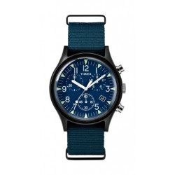 Timex MK1 Aluminum 40mm Chronograph Gent's Nylon Watch - TW2R67600