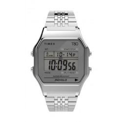 Timex T80 Expansion Unisex Digital Metal Watch - (TW2R79300)