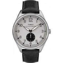 Timex Waterbury 42mm Gents Leather Watch (TW2R88900)