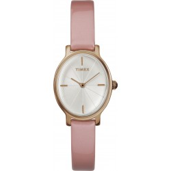 Timex Analog 24mm Ladies Leather Watch (TW2R94600)