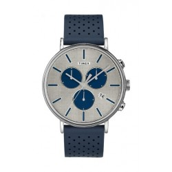 Timex Fairfield Supernova Chronograph 41mm Unisex Leather Strap Watch - TW2R97700 2