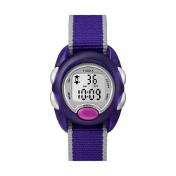 Timex Kid's Digital 34mm Fabric Strap Watch - Purple
