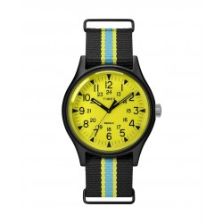 Timex 40mm MK1 Indiglo Analog Fabric Gents Watch (TW2T25700)