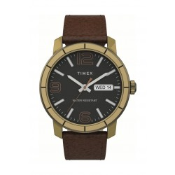 Timex 44mm Gent's Analog Leather Watch - (TW2T72700)