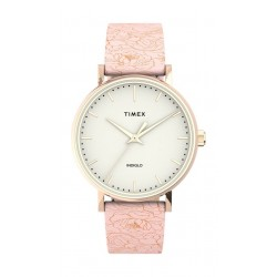 Timex 33mm Essential Collection Ladies Leather Watch - (TW2U40500)