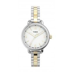 Timex Essential Collection 26mm Indiglo Ladies Automatic Metal Watch - (TW2U60200)