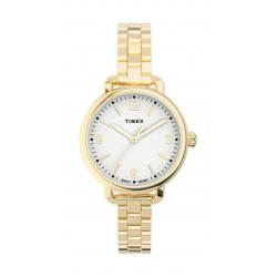 Timex Essential Collection 26mm Indiglo Ladies Automatic Metal Watch - (TW2U60600)