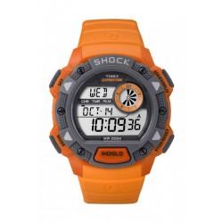 Timex Expedition Shock Gents Watch - Resin Strap - Orange (TW4B07600)