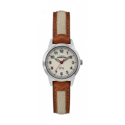 Timex Expedition Field Mini 26mm Analog Unisex Leather Watch - TW4B11900
