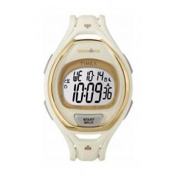 Timex Ironman Unisex Digital Watch, Resin Strap (TW5M06100) – White