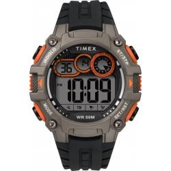 Timex Digital Sport Rubber Watch For Gents (TW5M27200) - Black