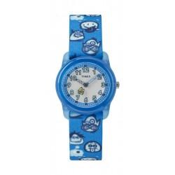 Timex Kids Analog 28mm Elastic Fabric Strap Watch - TW7C25700 q