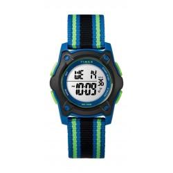 Timex Kid's Digital 35mm Fabric Strap Watch - Multicolor