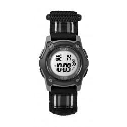 Timex Kid's Digital 35mm Fabric Strap Watch - Black