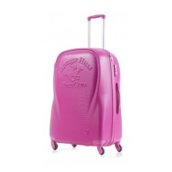 U.S Polo Hard Luggage 65CM (1PL010550M-094) - Pink