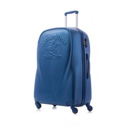 U.S Polo Hard Luggage 65CM (1PL010550M-005) - Blue