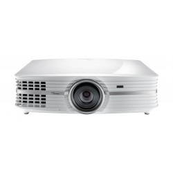 Optoma UHD60 3000-Lumen HDR 4K DLP Projector - White
