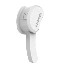 Promate Aural Bluetooth Wireless Mono Earphone (v4.1+EDR) - White 1st view