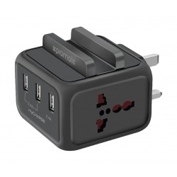 Promate MyCharge USB Smart Fast Charger - Black