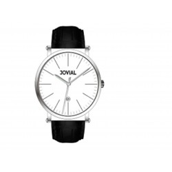 JOVIAL 5210-GSLQ-11 Gents Watch - Leather Strap