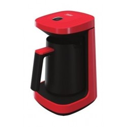 Beko Monus 500-600W Turkish Coffee Machine - Red (TKM2940K)
