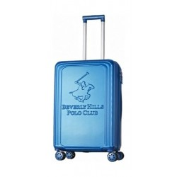 US POLO Paco Hard Trolley Luggage - Medium/Blue