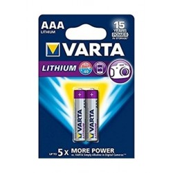 Varta AAA Lithium Battery - 2 pcs