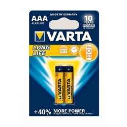 Varta LL 2 AAA Alkaline Battery - 2 Pcs