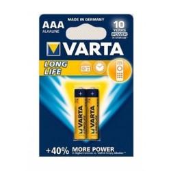 Varta LL 2 AAA Alkaline Battery - 2 Pcs