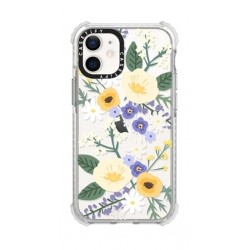 Casetify Veronica Violet iPhone 12 Mini Back Case - Clear