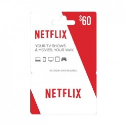 Netflix $60 (Us Accounts)