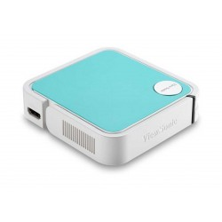 ViewSonic M1 Mini + WVGA-120 L-500:1 Pocket LED Ultra-Portable Projector